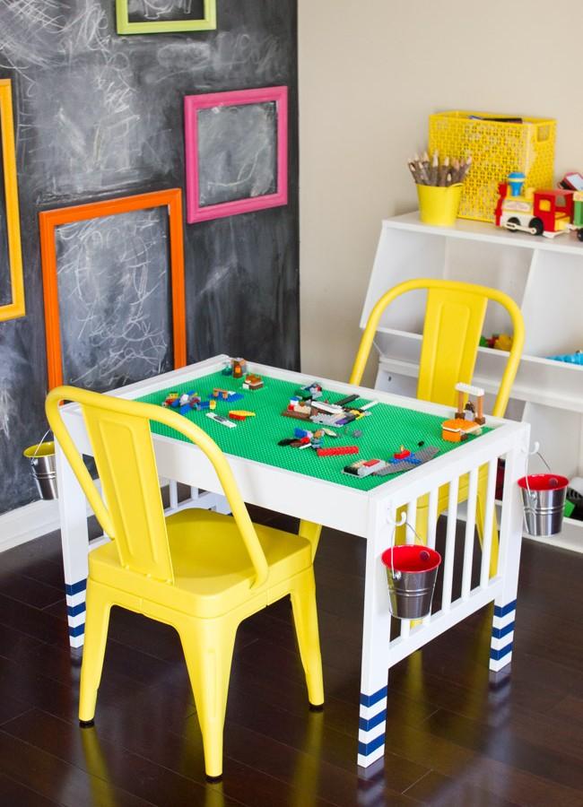 DIY Lego Table IKEA Hack