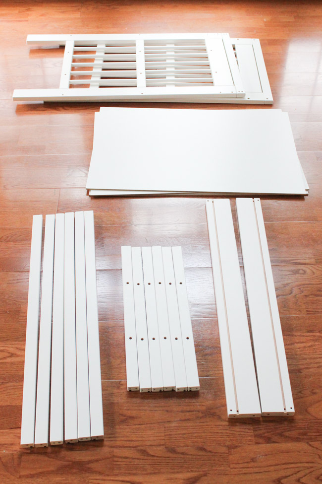 DIY Lego Table IKEA Hack - Erin Spain