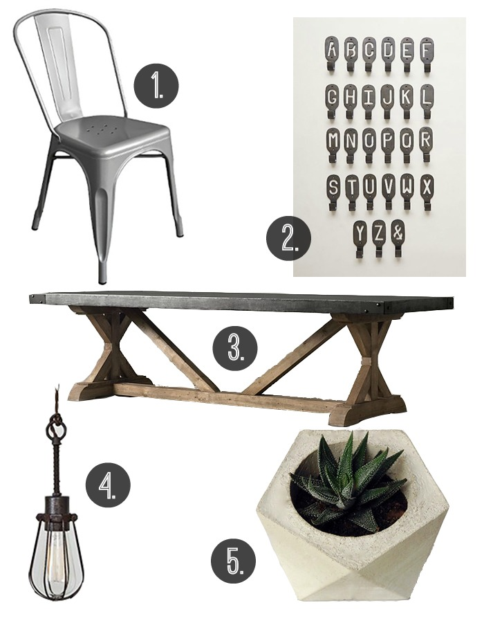 Inspired by Industrial Style