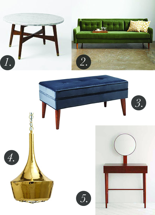 Inspired By Mid Century Modern Style Erin Spain