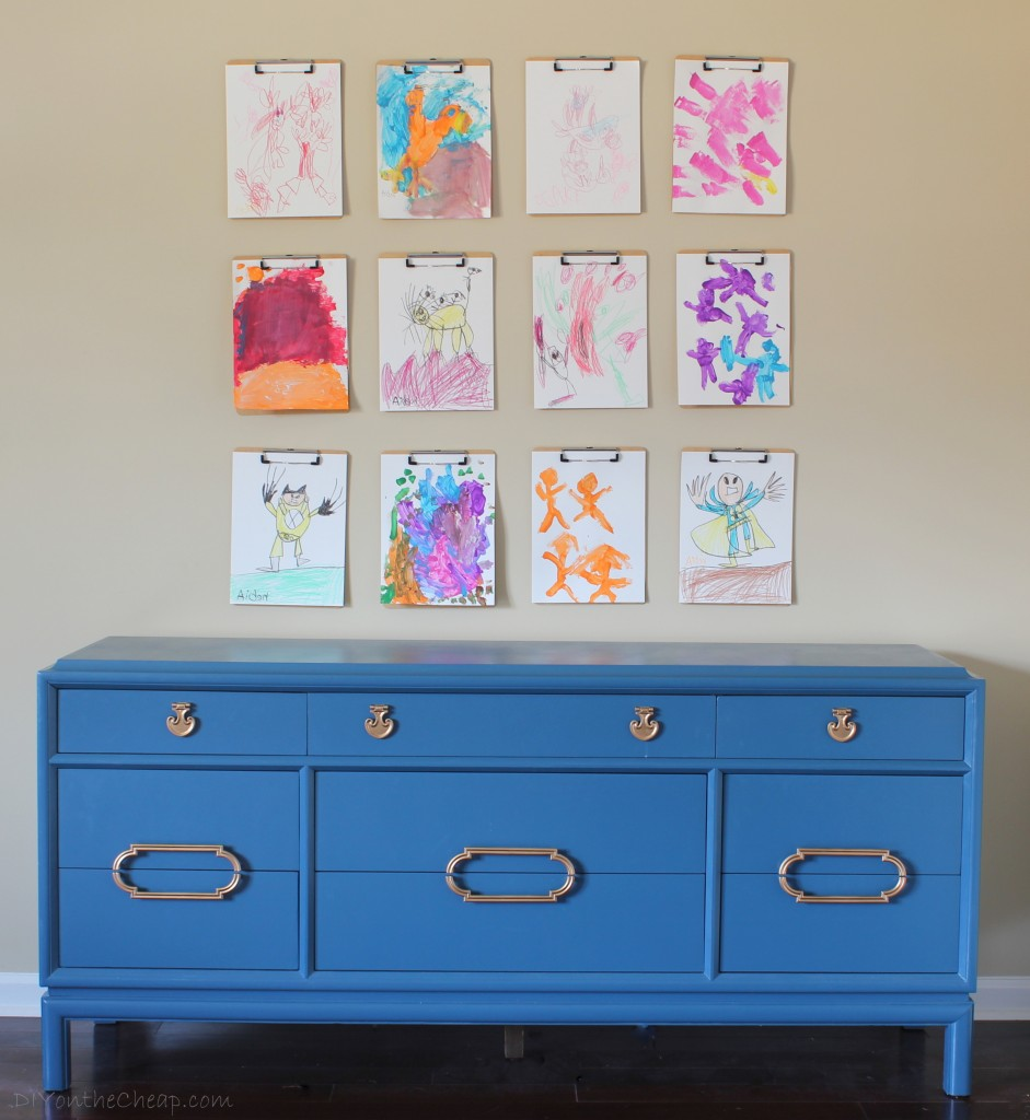 Get DIY decor tips from blogger Erin Spain, including easy ideas for creating your own art.