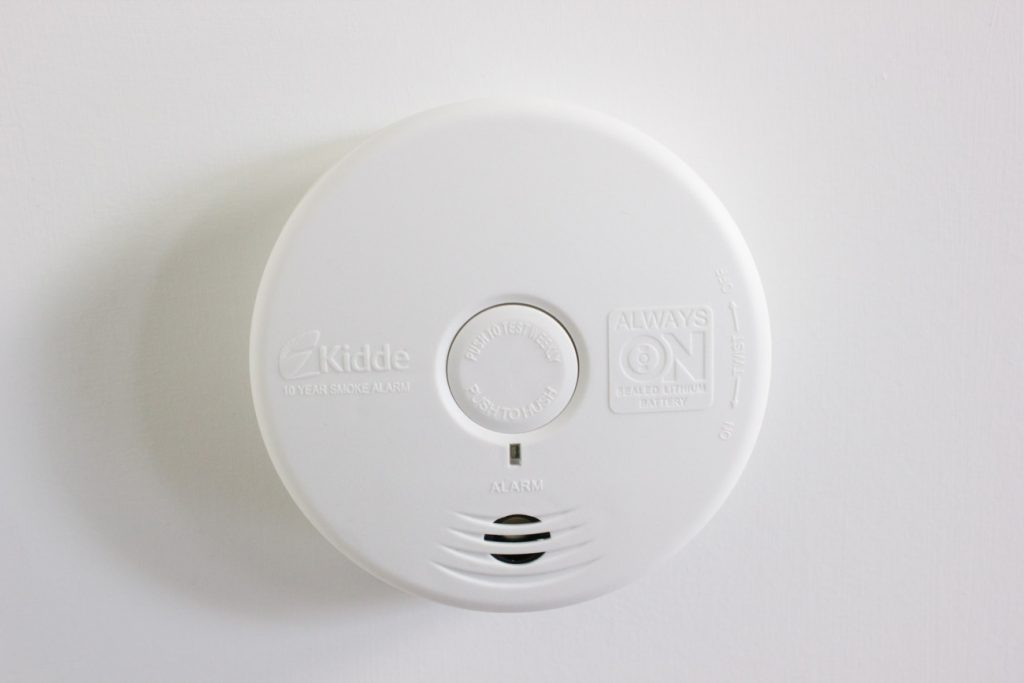 Never change your smoke alarm batteries again! This one from Kidde lasts for 10 years.