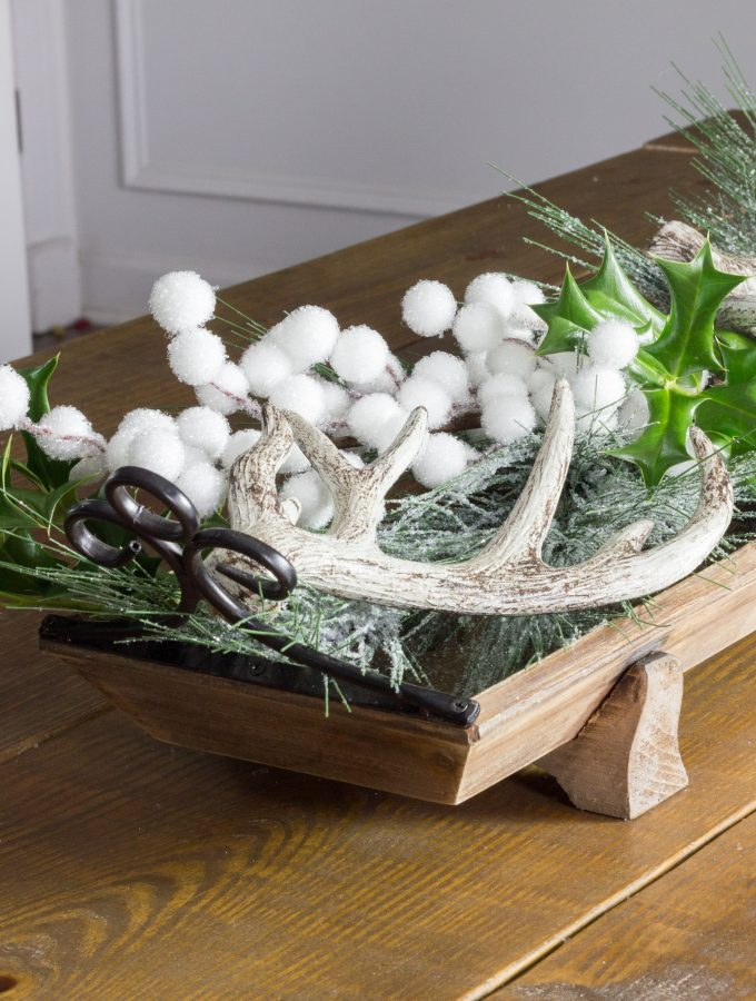 Holiday Centerpiece with Kirkland's