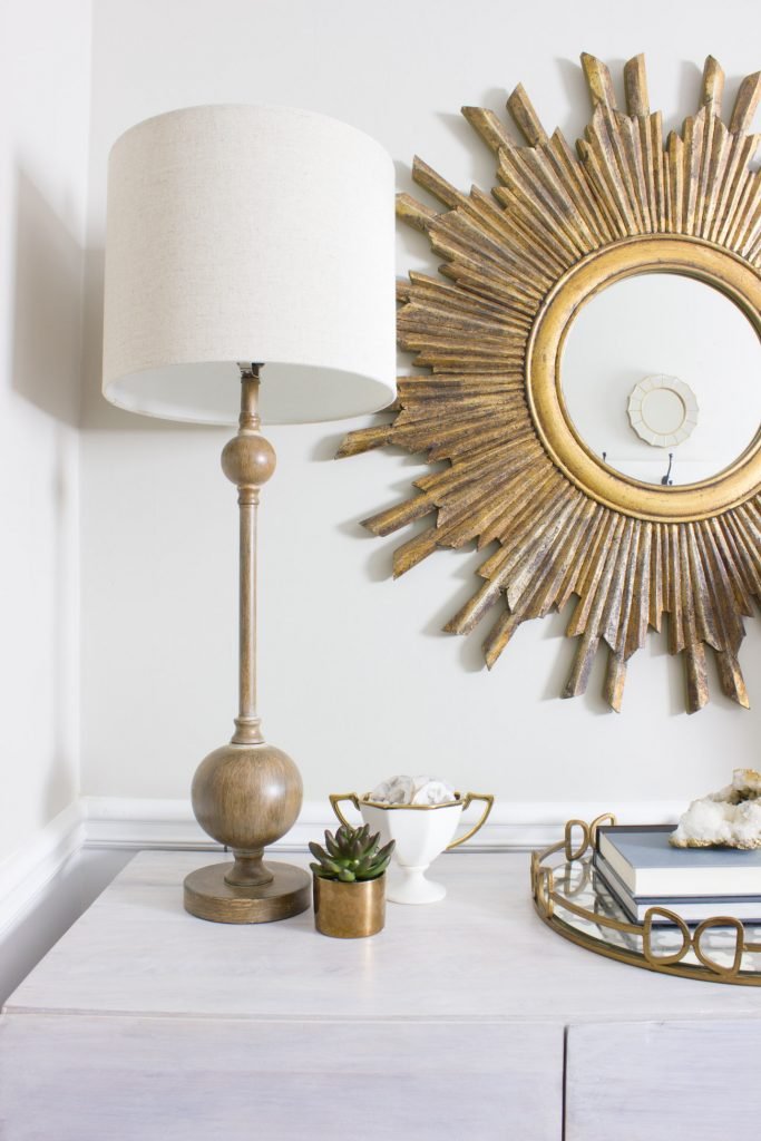 Kirkland's is having a Black Friday in July sale! This entryway update includes a lamp included in their sale.