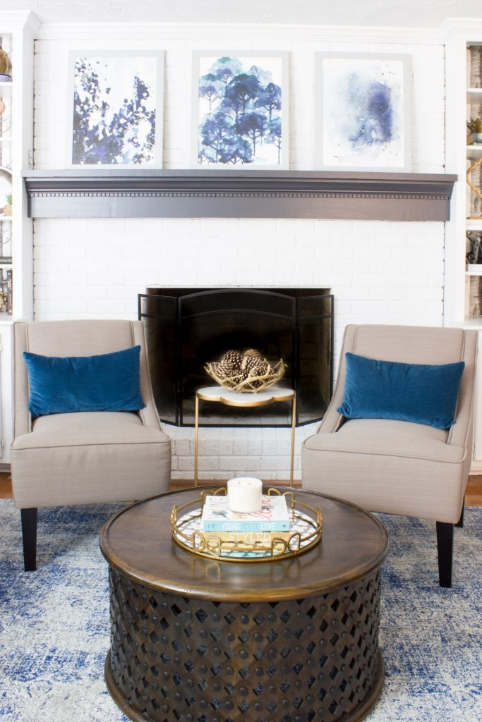 Family Room Refresh Amp New Accent Chairs Erin Spain