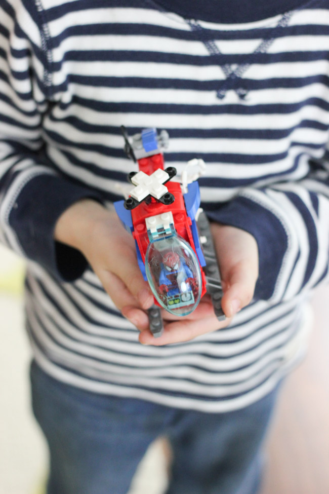 Lego® Super Heroes sets are great for all ages and encourage a love for building and DIY!