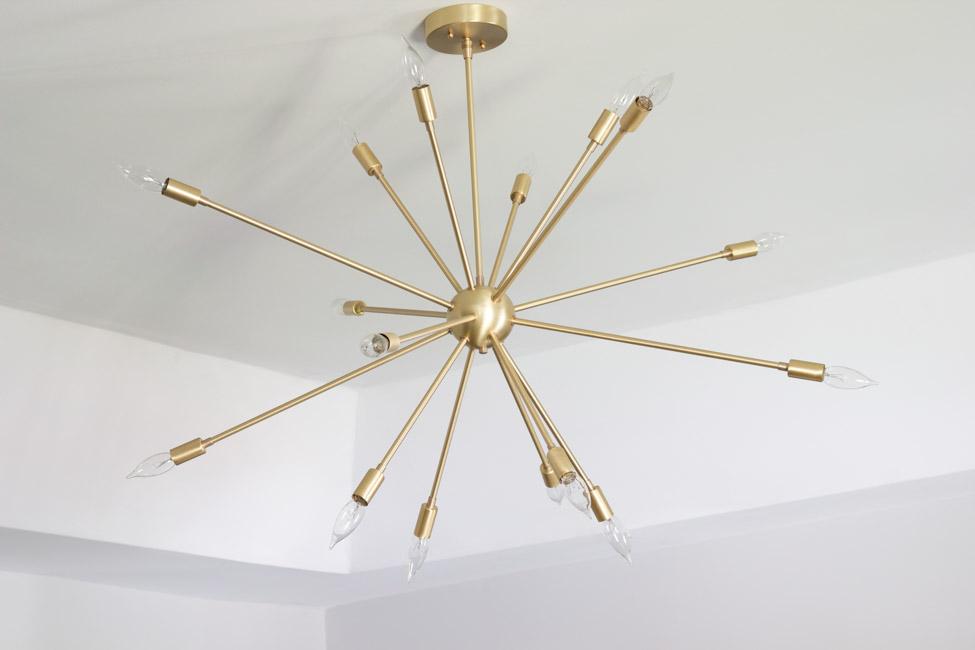 Master Bedroom Sputnik Chandelier From Lucent Lightshop