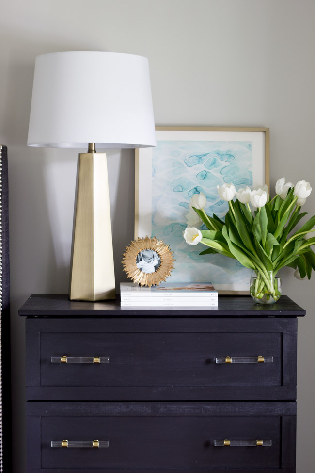 Check out this beautiful DIY IKEA Tarva Hack! Transform this inexpensive piece of furniture for a totally custom look with this step by step tutorial.