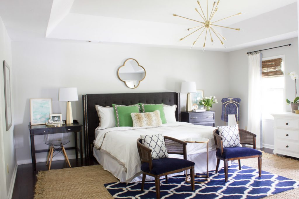Master Bedroom Makeover Reveal: One Room Challenge - Erin Spain on