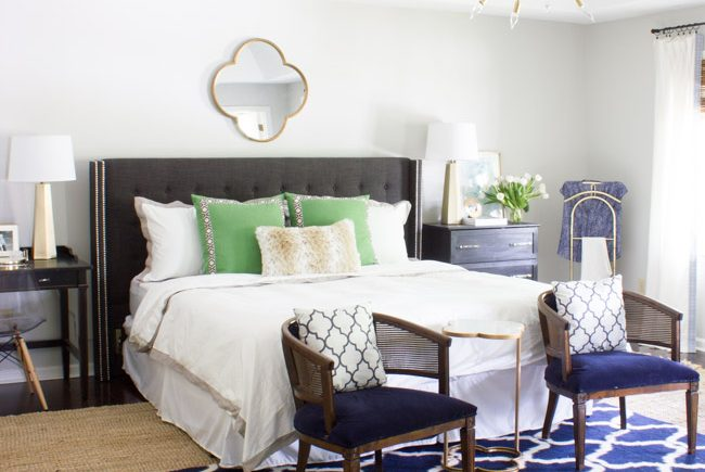 Master Bedroom Makeover Reveal: One Room Challenge