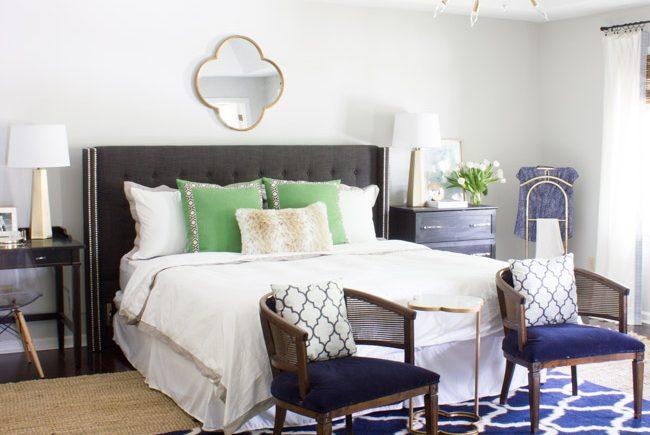 Master Bedroom Makeover Reveal One Room Challenge