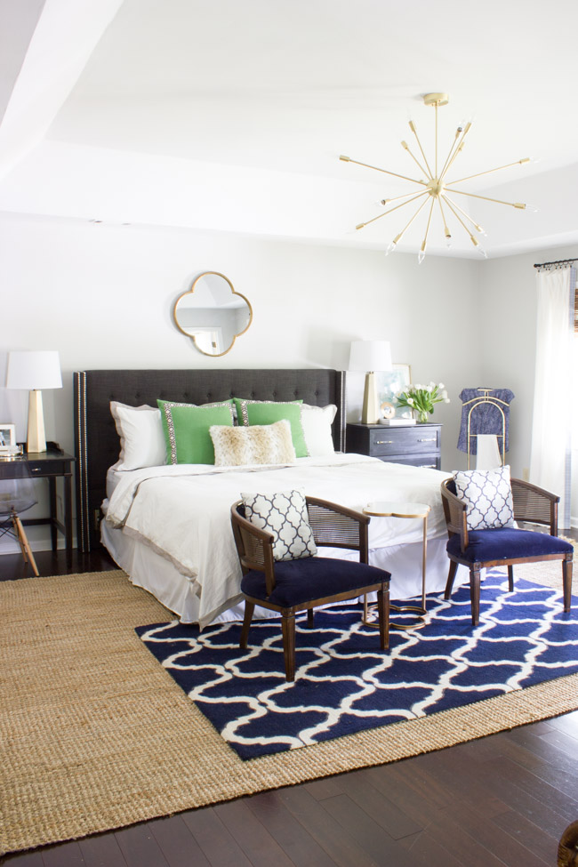 Master Bedroom Makeover Reveal One Room Challenge Erin Spain