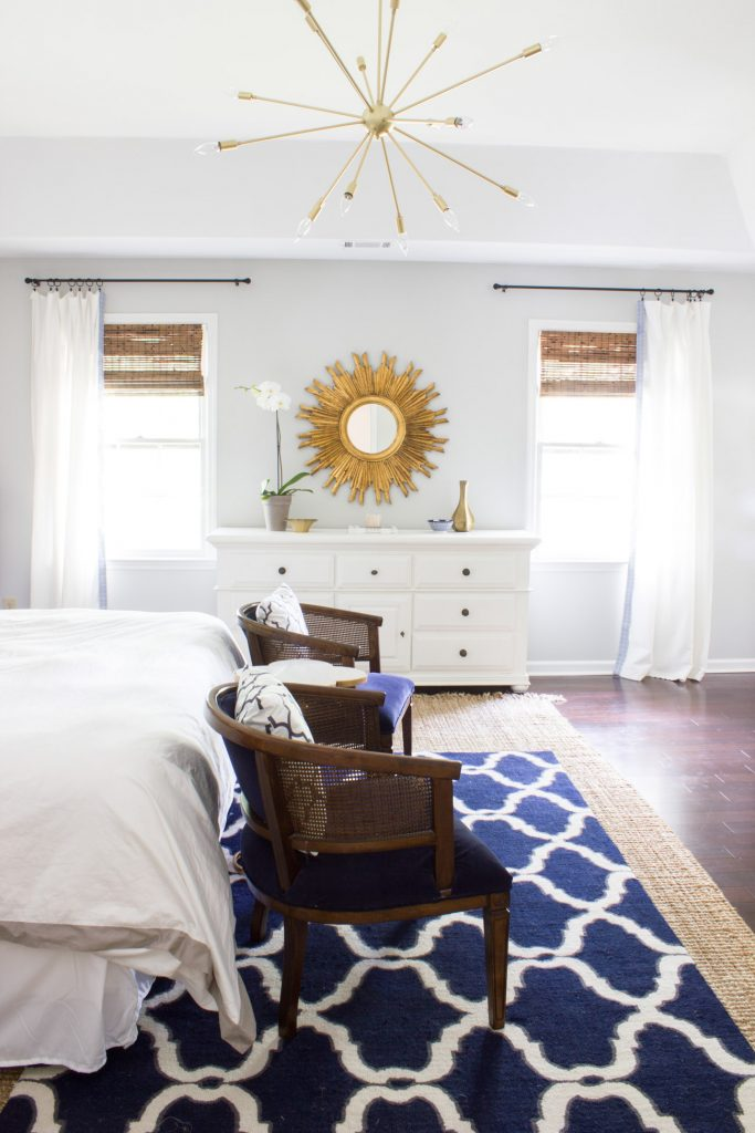 Master Bedroom Makeover Reveal: One Room Challenge - Erin Spain
