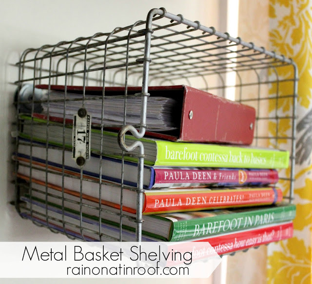 metal basket shelving 3