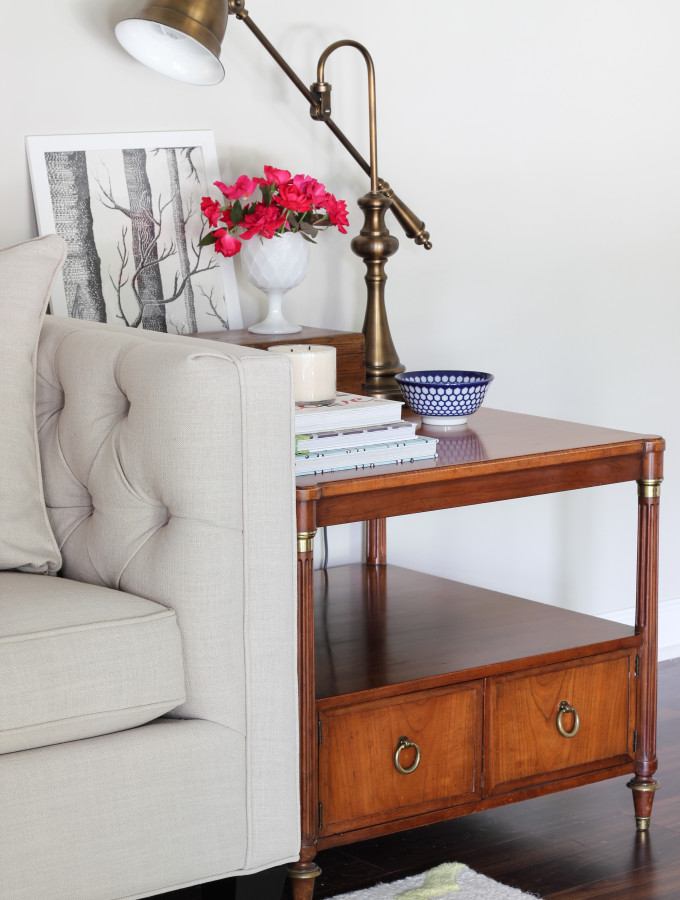 New Vintage End Tables & Everything But The House