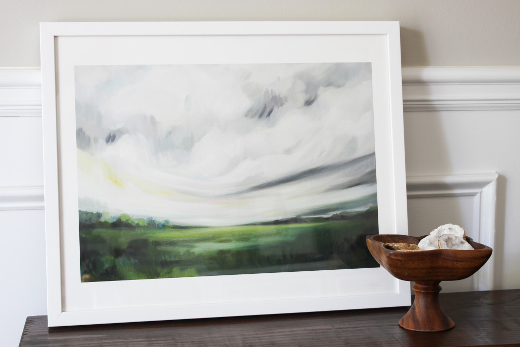 """""""Mornings Away"""" by Emily Jeffords. Limited edition art print from Minted."""