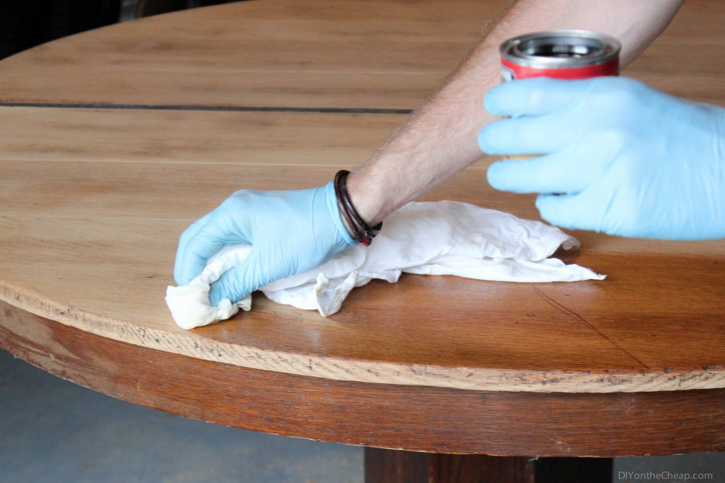 How to Stain Furniture: The Basics