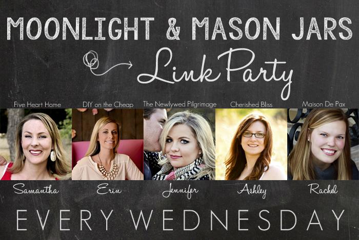 Moonlight & Mason Jars Link Party {67}