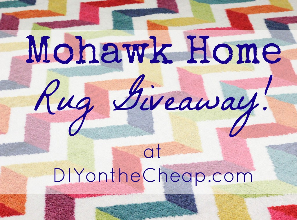 Mohawk Home Rug Review and Giveaway at DIYontheCheap.com!