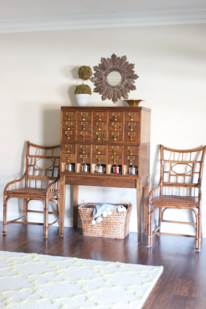 Fall Home Tour: Card Catalog
