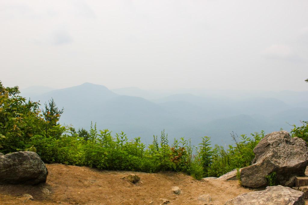 Whiteside Mountain in NC.