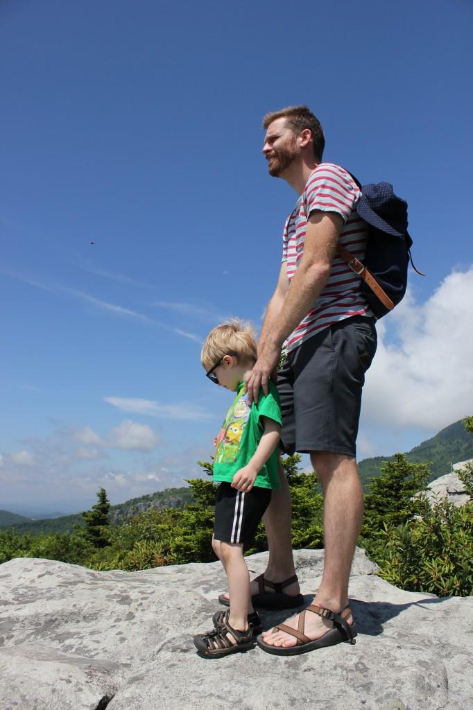 Rough Ridge Trail in the Blue Ridge Mountains