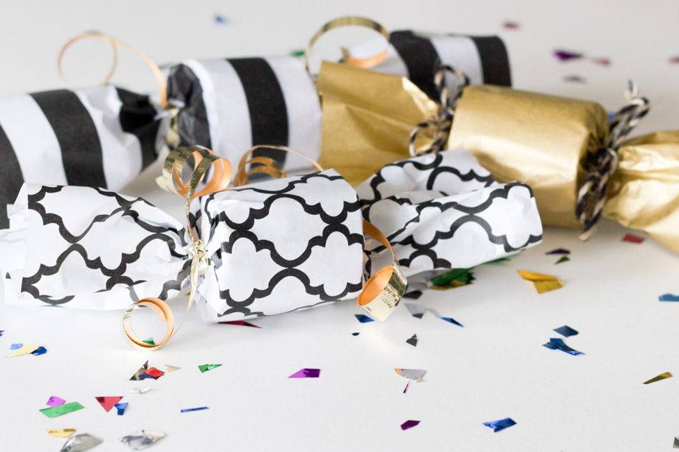 Diy Confetti Poppers For New Year S Eve Erin Spain