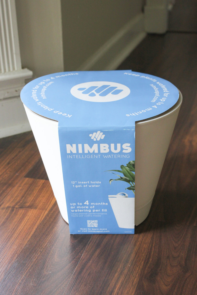 The NIMBUS Pot self-watering planter - the perfect solution for black thumbs!
