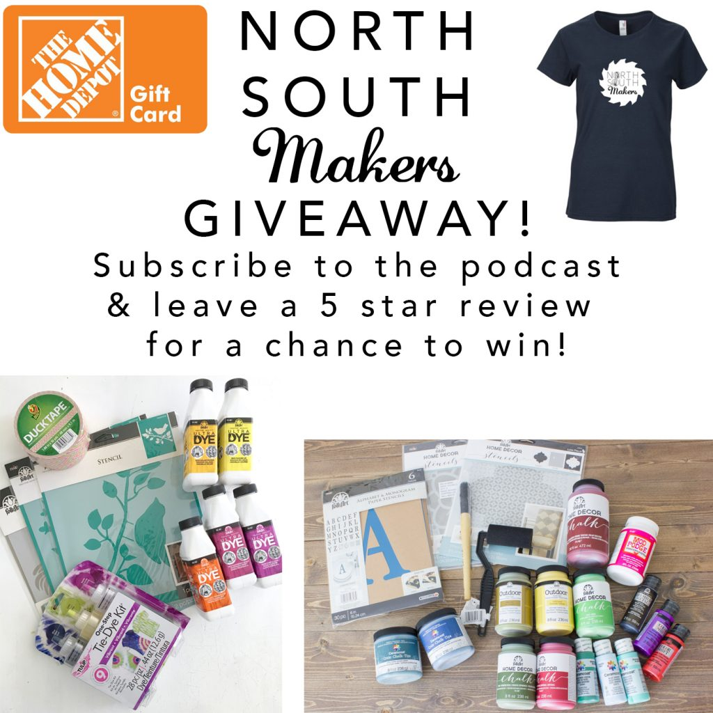 North South Makers Podcast Giveaway!