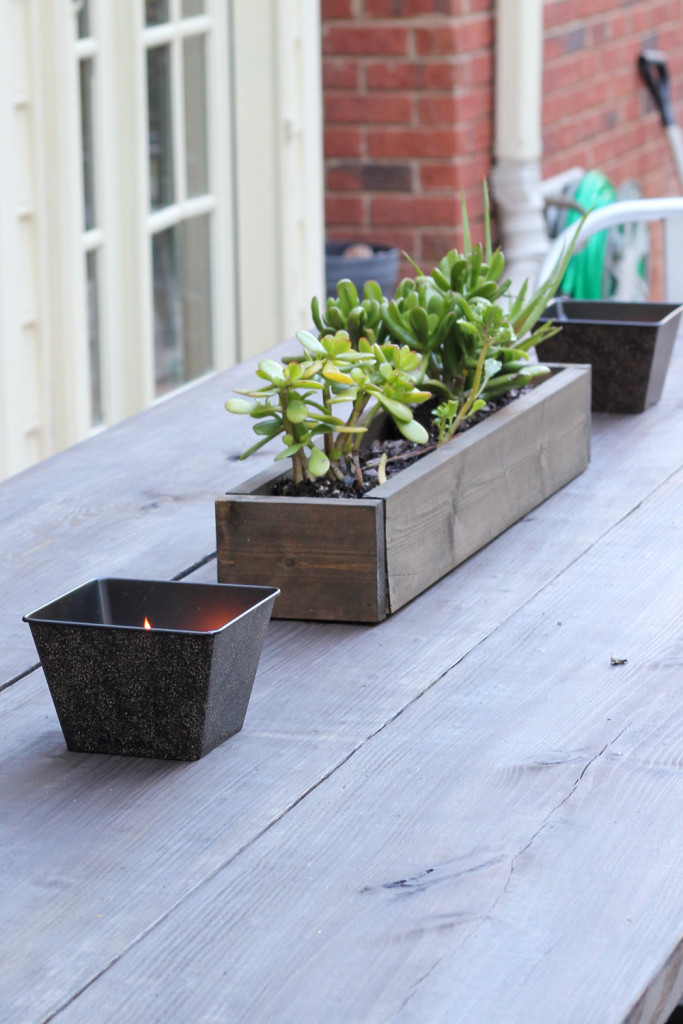 Fall Home Tour: Outdoor Table