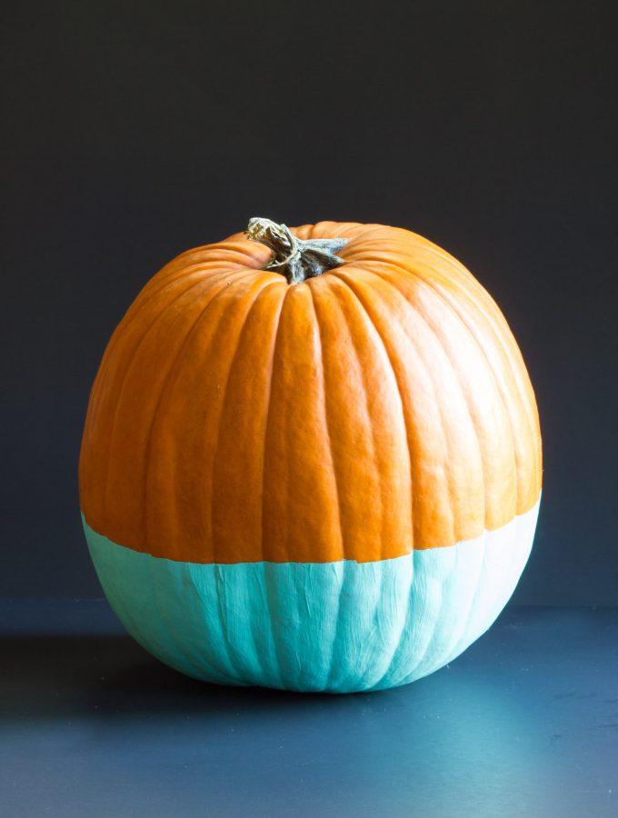 Paint Dipped Pumpkin Tutorial
