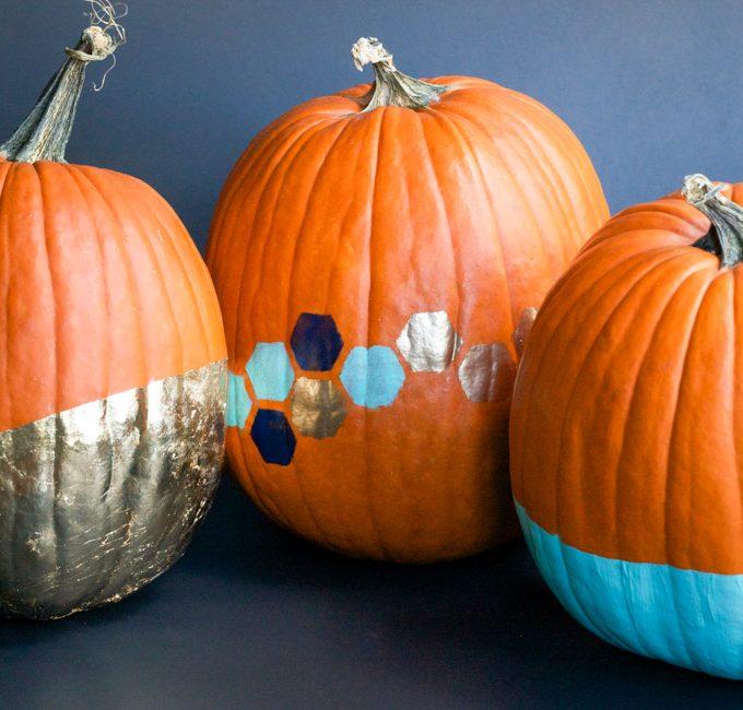 Pumpkin Painting Workshop at West Elm
