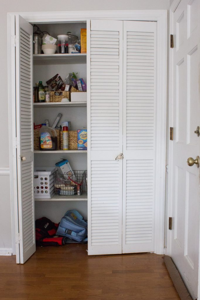We replaced our broken bi-fold pantry doors, but not before having some demo fun on our old ones! See the before and after and how much fun we had smashing the old doors before removing them for good.