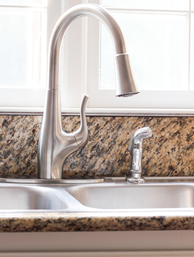 Water Filtration & A New Kitchen Faucet