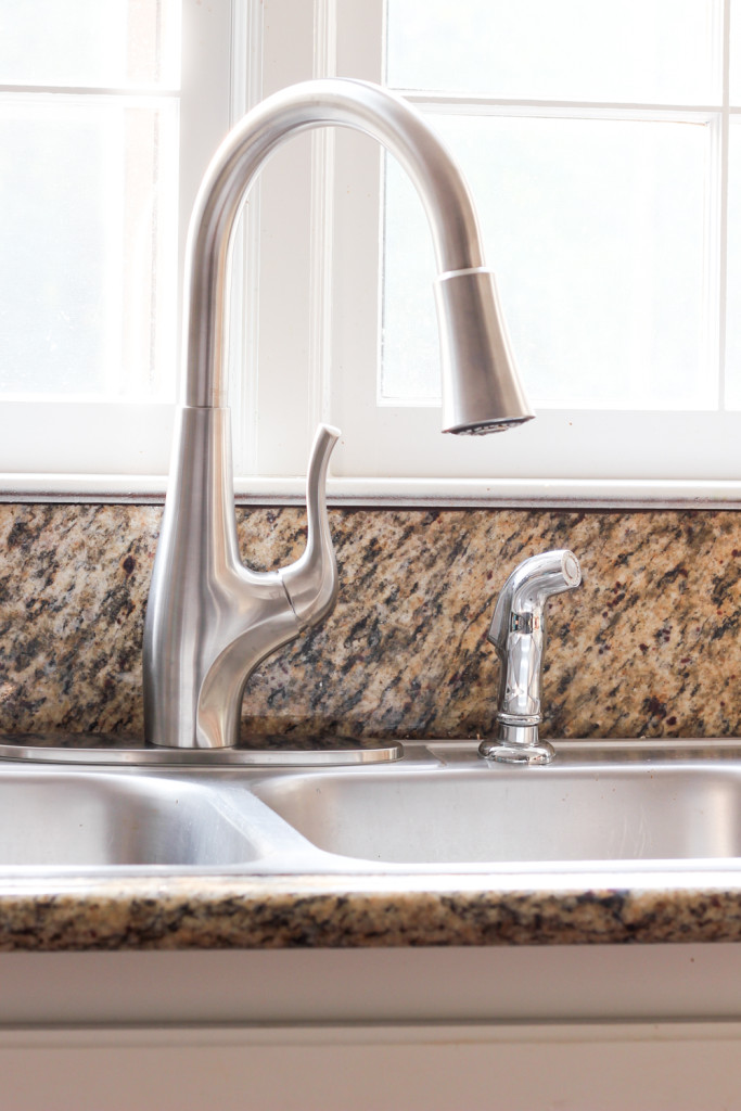 Pfister Clarity Extract Faucet and water filtration system.