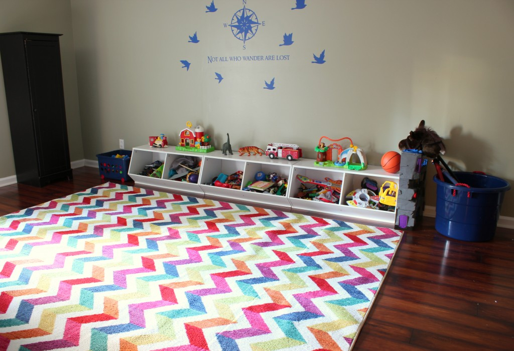 Mohawk Home Rug In Playroom Via Diyonthe