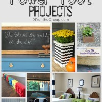 My favorite power tool projects!