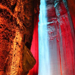 Hear about the history of Ruby Falls via ErinSpain.com.