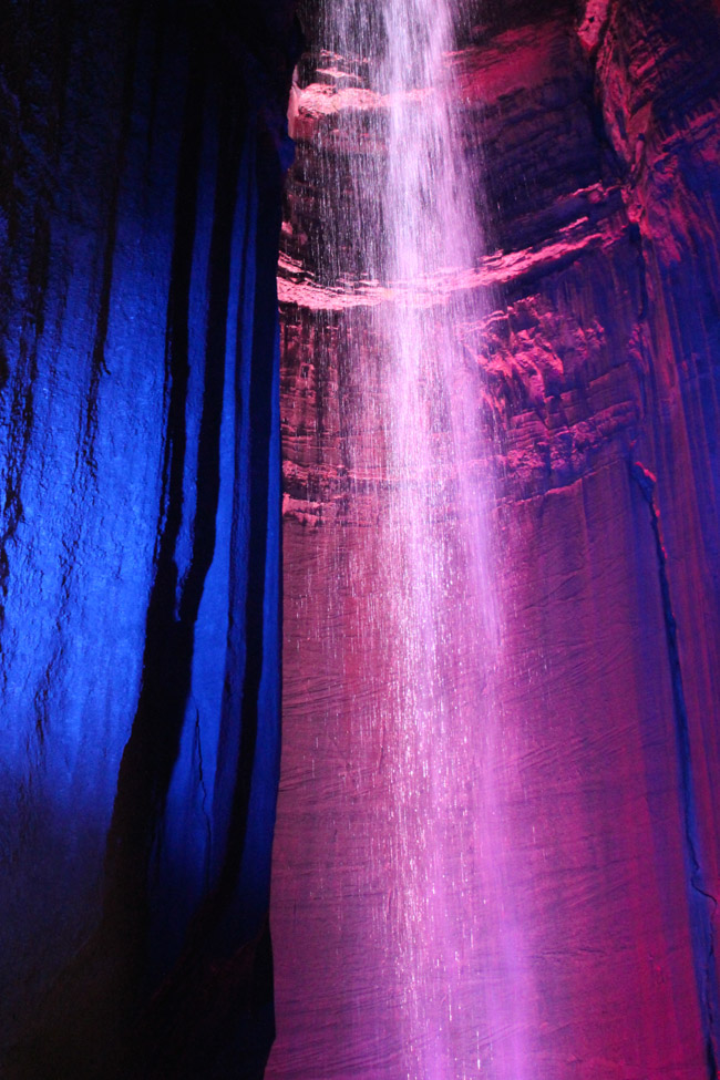 Learn about the history of Ruby Falls at ErinSpain.com.