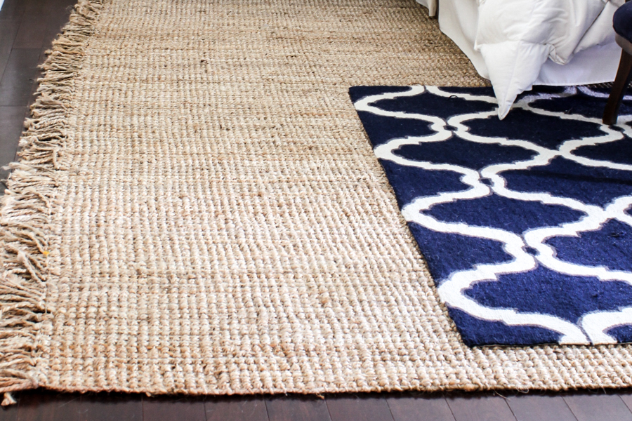 Master Bedroom Plans & New Jute Rug
