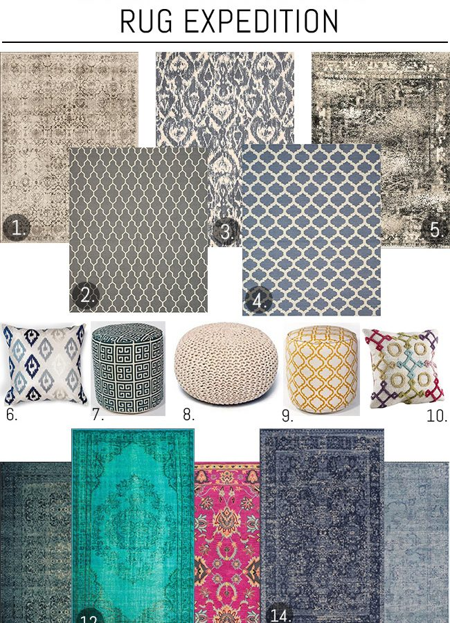 My Home Picks from Rug Expedition {& a Giveaway!}