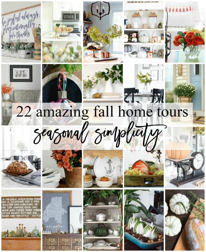 Seasonal Simplicity Fall Home Tour Blog Hop