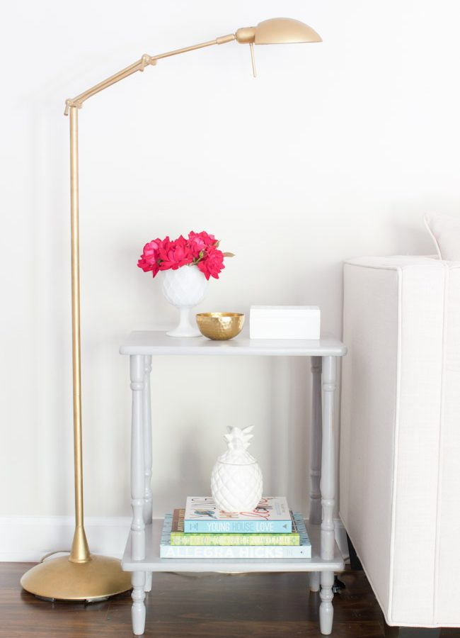 Side Table Makeover with FolkArt Milk Paint