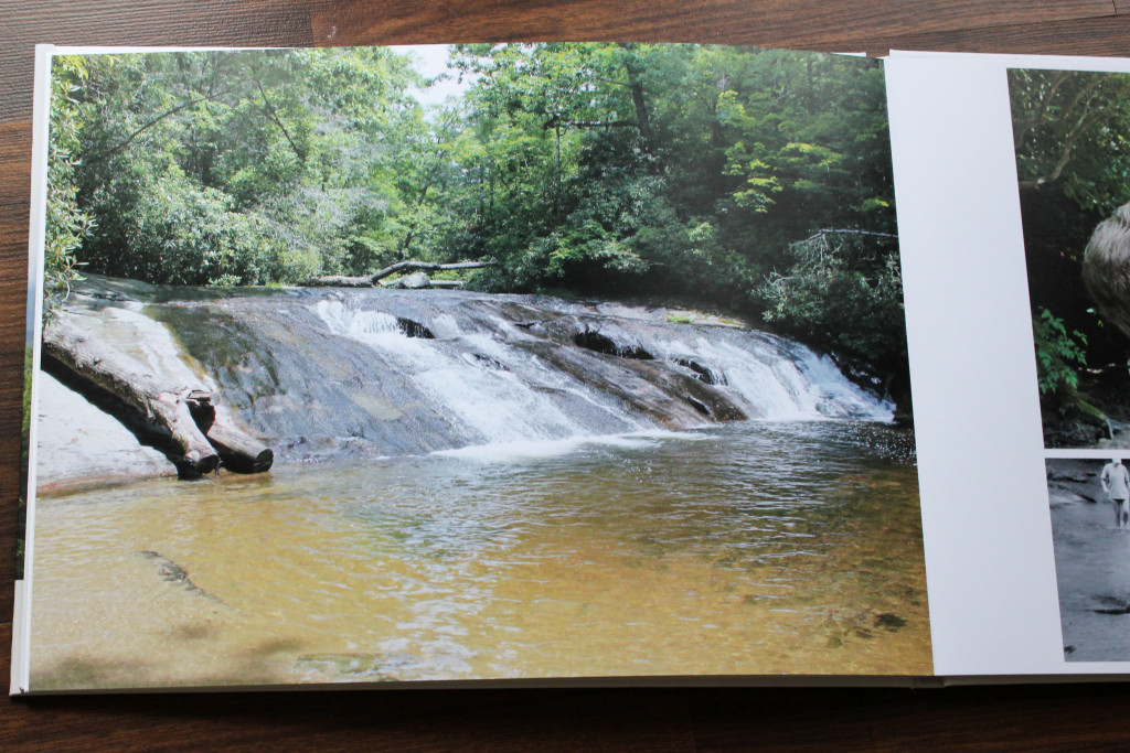 Have your family photos made into a coffee table book.