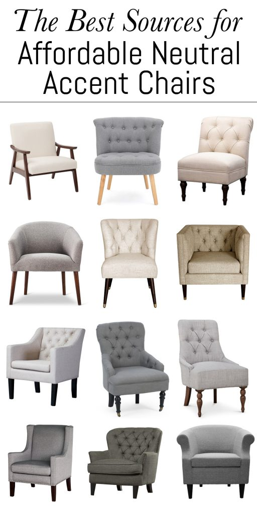 Groovy The Best Sources For Affordable Neutral Accent Chairs Erin Pabps2019 Chair Design Images Pabps2019Com