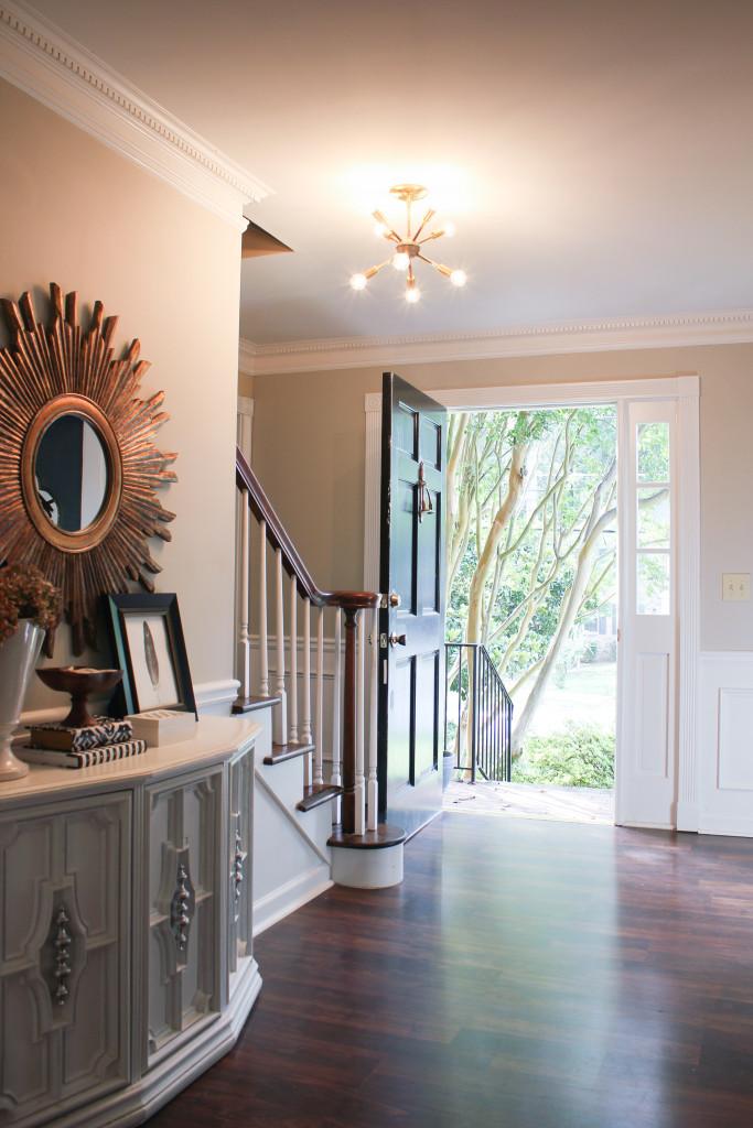Contemporary Foyer Now : New sputnik chandelier mid century style lighting source