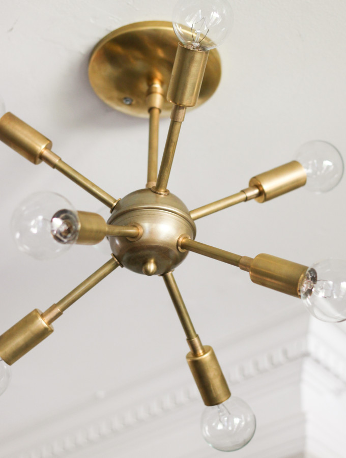 New Sputnik Chandelier & Mid-Century Style Lighting Source