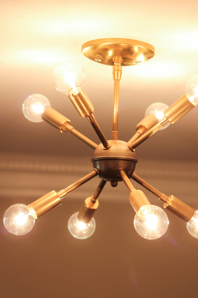 Mid Century Modern Foyer Light : New sputnik chandelier mid century style lighting source