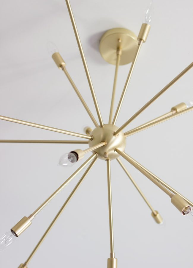 Master Bedroom Sputnik Chandelier from Lucent Lightshop
