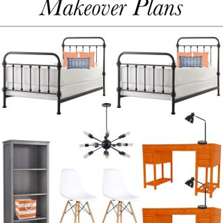 Loving this Star Wars themed boys' bedroom plan! Check out the post for all the details.